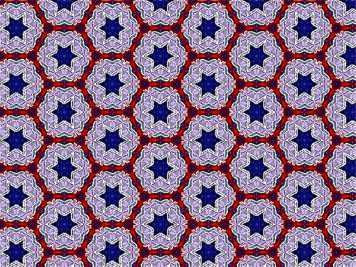 Photo image: Star of David pattern
