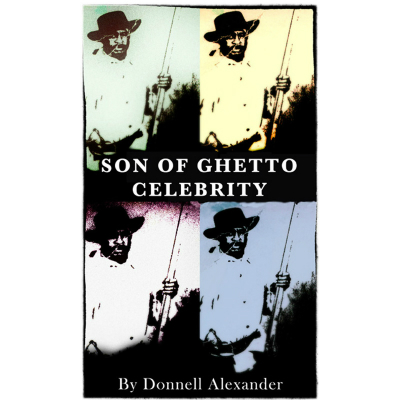 "book cover: ""Son of Ghetto Celebrity"""