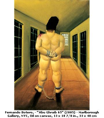 "Image by Fernando Botero: ""Abu Ghraib"""